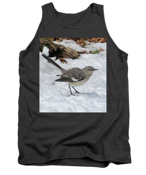 Mockingbird In The Snow Tank Top