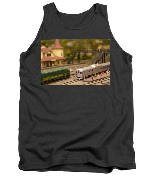 Model Trains Tank Top