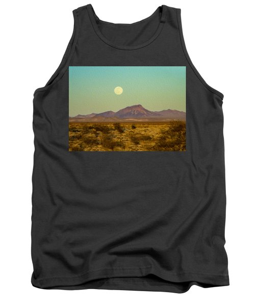Mohave Desert Moon Tank Top