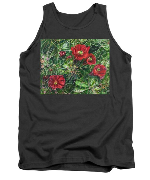 Mohave Mound Cactus Tank Top