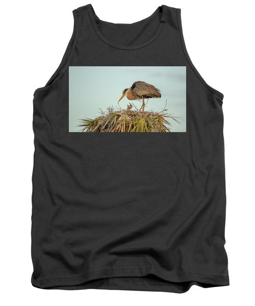 Mom And Chick Tank Top