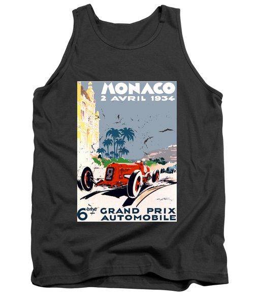 Monaco 1934 Tank Top