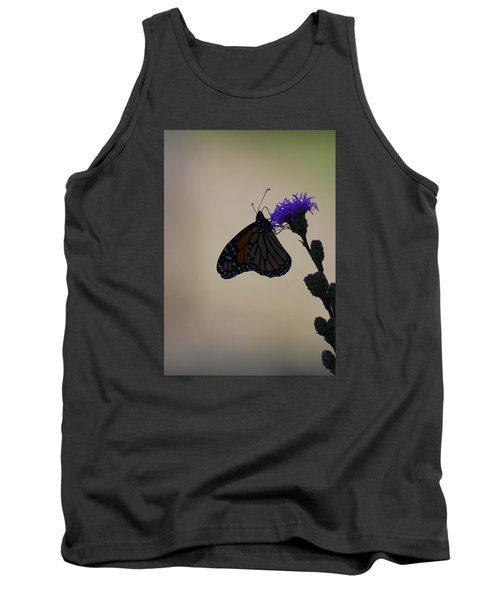 Tank Top featuring the photograph Monarch Beauty by Ramona Whiteaker