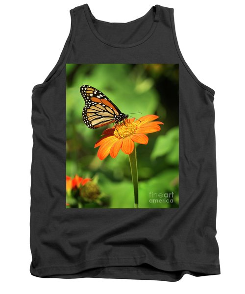 Monarch Butterfly II Vertical Tank Top