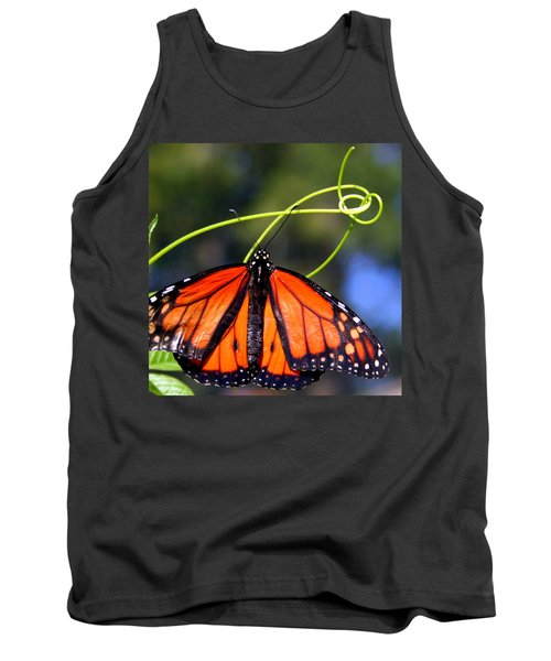 Monarch Butterfly Tank Top by Laurel Talabere
