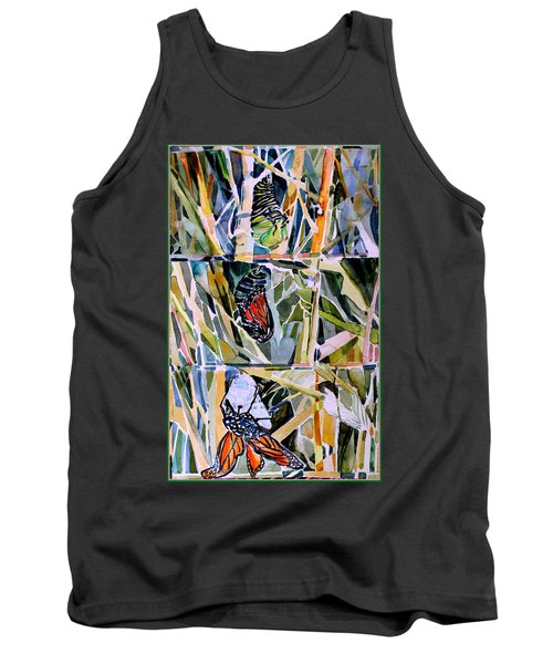 Monarch Butterfly Life Cycle Tank Top