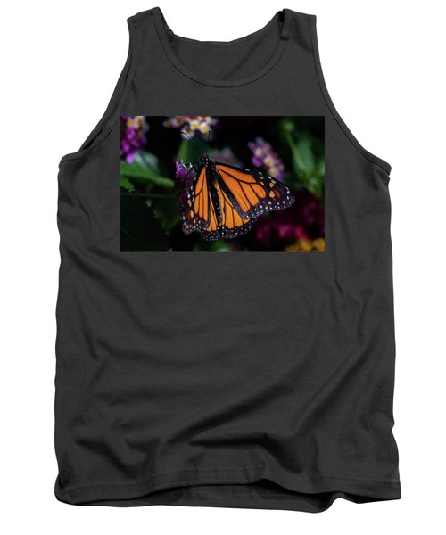 Tank Top featuring the photograph Monarch by Jay Stockhaus