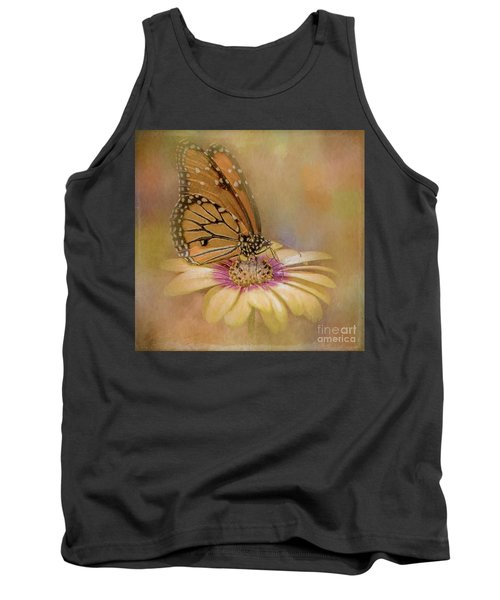 Monarch On A Daisy Mum Tank Top