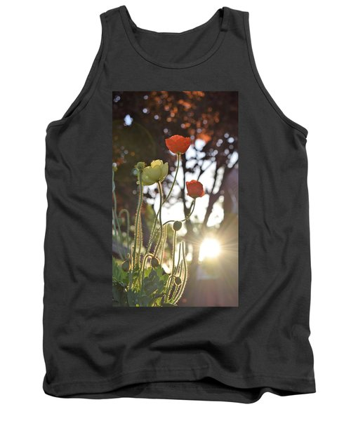 Monday Morning Sunrise Tank Top by John Glass