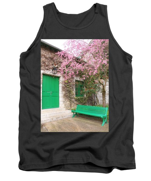 Monet's Bench Tank Top
