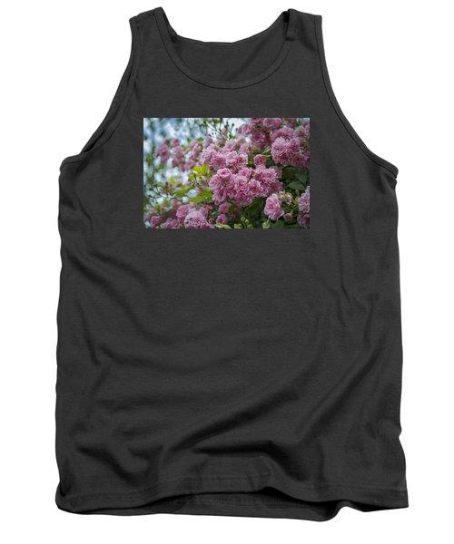 Monet's Roses Tank Top