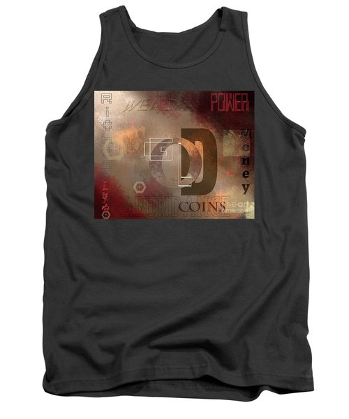 Money Gold Abundance Tank Top