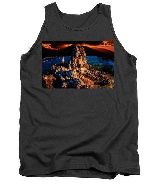 Mono Lake Sunset Tank Top