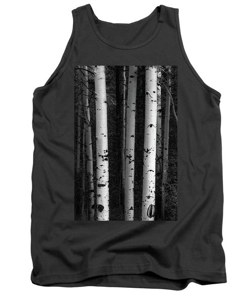 Tank Top featuring the photograph Monochrome Wilderness Wonders by James BO Insogna
