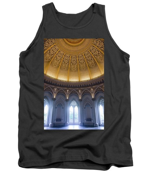 Tank Top featuring the photograph Monserrate Palace Room by Carlos Caetano