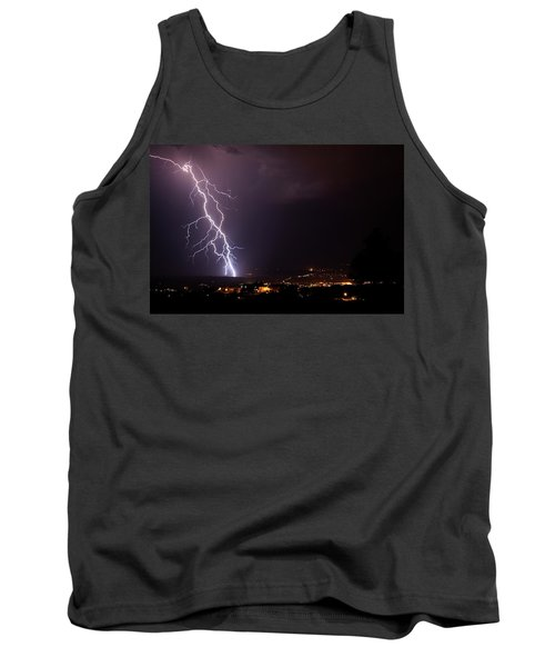 Tank Top featuring the photograph Monsoon Storm by Ron Chilston