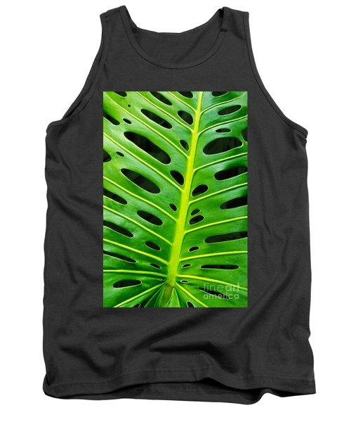 Monstera Leaf Tank Top