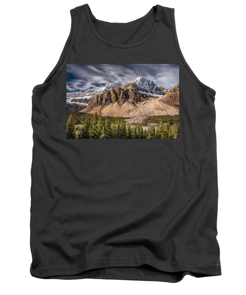 Tank Top featuring the photograph Mont Crowfoot On The Icefield Parkway by Pierre Leclerc Photography