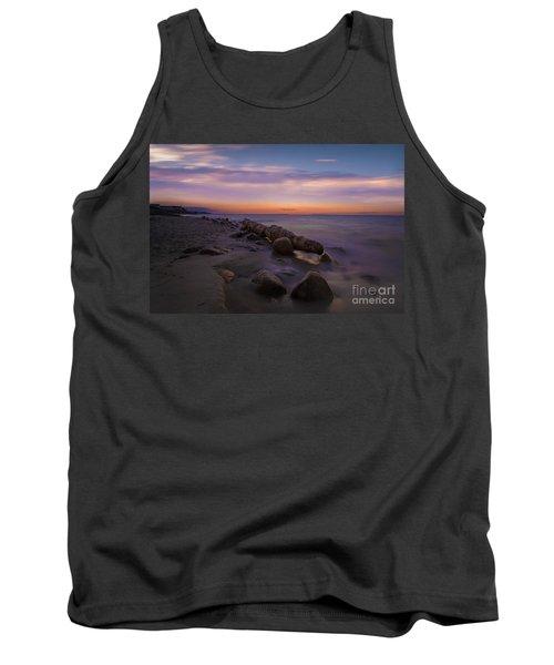 Montauk Sunset Boulders Tank Top