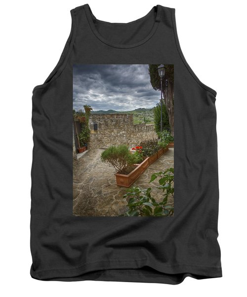 Montefioralle Tuscany 4 Tank Top