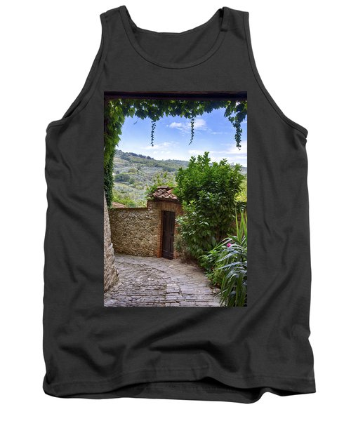 Montefioralle, Tuscany Tank Top