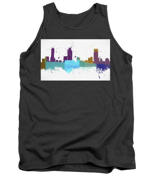 Montreal Colorful Skyline Tank Top