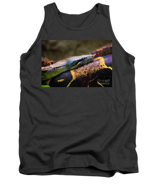 Don't Wear This Boa Tank Top