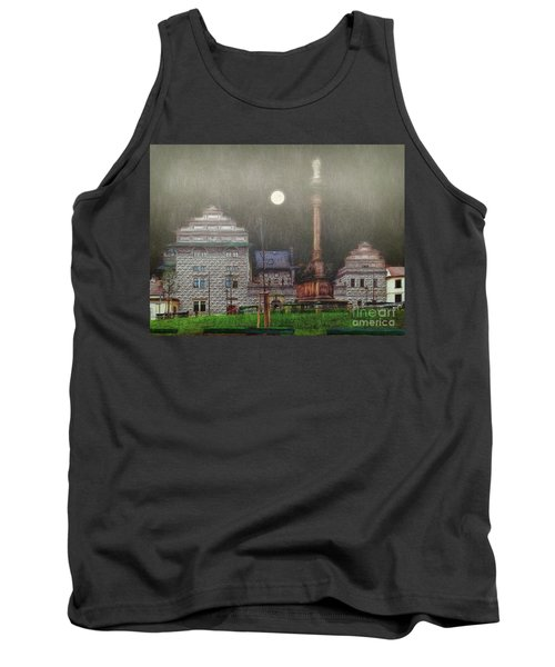 Tank Top featuring the photograph Monumental- Prague by Leigh Kemp