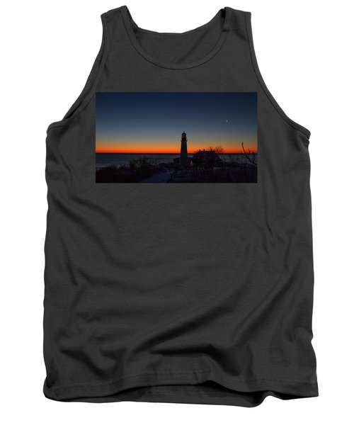 Moon And Venus - Headlight Sunrise Tank Top