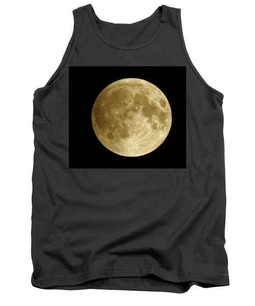 Moon During Eclipse Tank Top