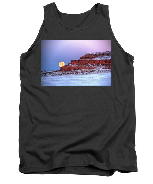 Moon Of The Popping Trees Tank Top