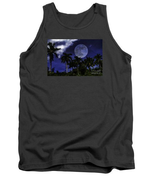 Moon Over Belize Tank Top