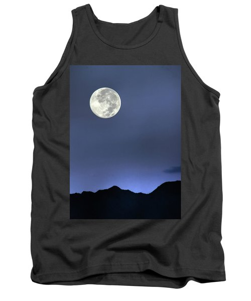 Moon Over Ko'olau Tank Top by Dan McManus