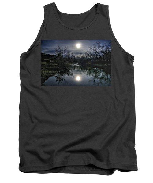 Moon Over Sand Creek Tank Top