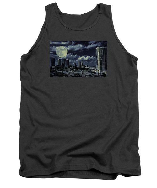 Moon Over Tampa Two Tank Top