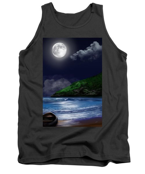 Moon Over The Cove Tank Top