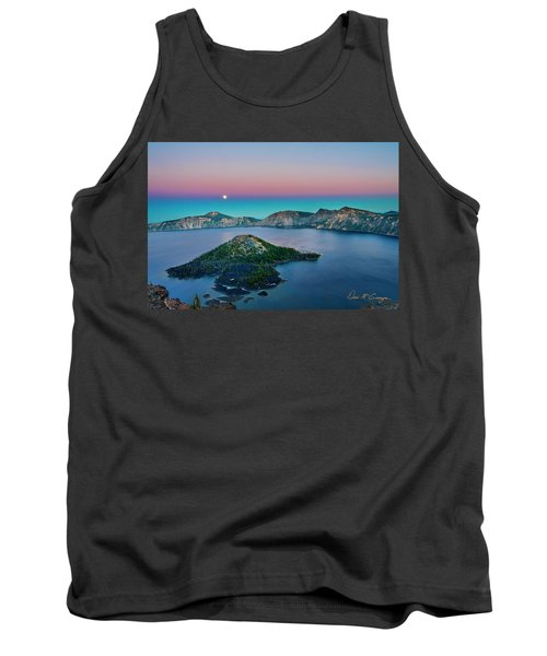 Moon Over Wizard Island Tank Top