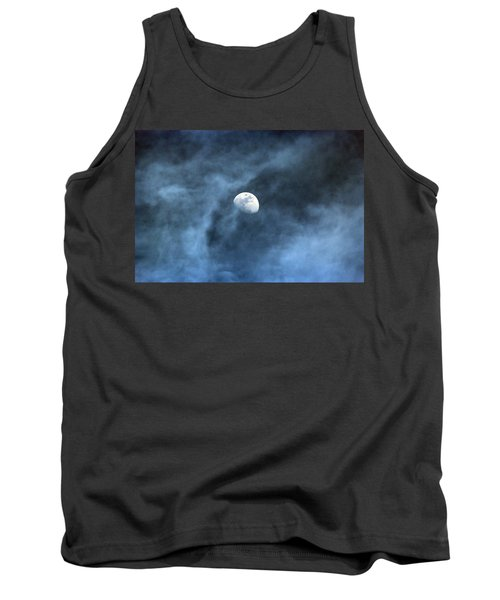 Moon Smoke Tank Top by David Stasiak