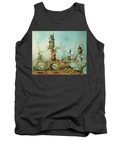 Moonshine Manor The Finest Distillery West Of The Sun Tank Top