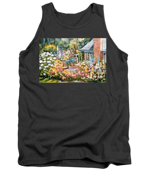 Moore's Garden Tank Top by Alexandra Maria Ethlyn Cheshire