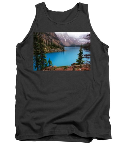 Moraine Lake Tank Top by Heather Vopni