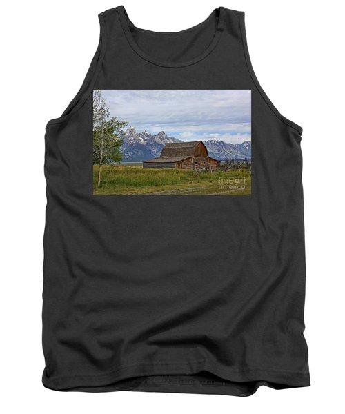 Mormon Row Barn And Grand Tetons Tank Top