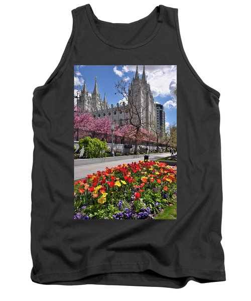 Mormon Temple Tank Top by Utah Images