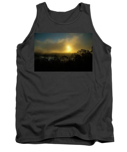 Tank Top featuring the photograph Morning Arrives by Karol Livote