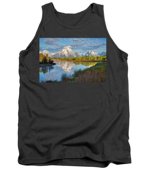 Morning At Oxbow Bend Tank Top