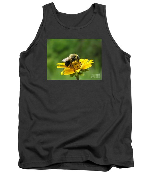 Morning Bee Tank Top by Susan  Dimitrakopoulos