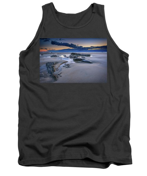 Tank Top featuring the photograph Morning Calm On Wells Beach by Rick Berk