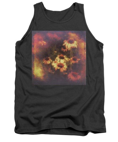 Morning Fire - Fierce Flower Beauty Tank Top