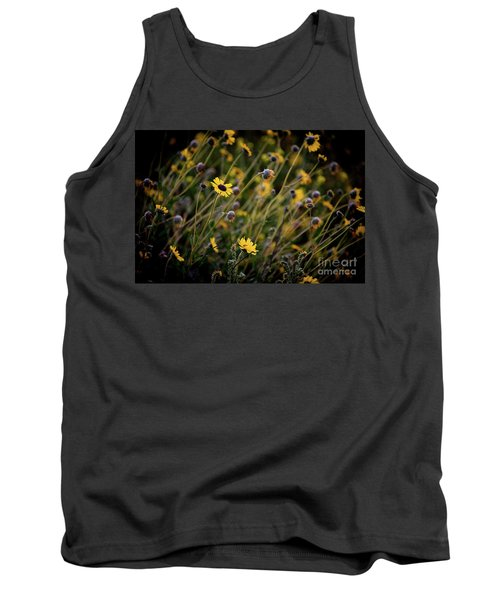 Tank Top featuring the photograph Morning Flowers by Kelly Wade