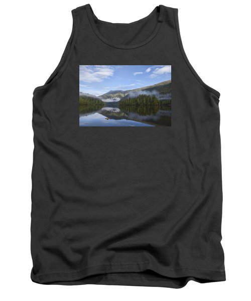 Morning Fog Clearing Tank Top by Michele Cornelius